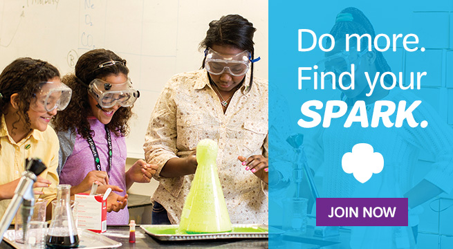 Do More. Find Your Spark. Join today!