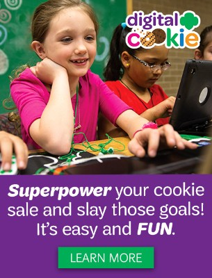 Superpower your cookie sale and slay those goals! It's easy and FUN!