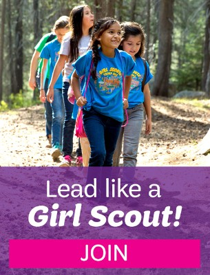 Lead like a Girl Scout! Join today!