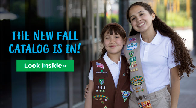 The new fall catalog is in! Look inside!