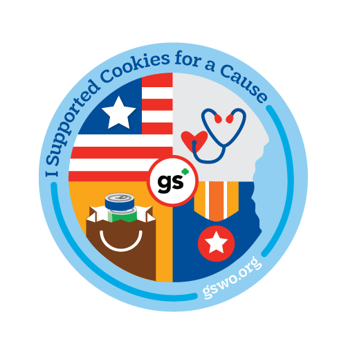 Some of the organizations that will be receiving these donated cookies include: